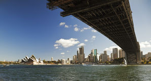 Harbour Bridge Royalty Free Stock Photo