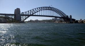 Harbour Bridge. In Sydney, photo taken from Opera House Royalty Free Stock Image
