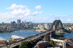 HARBOUR BRIDGE Stock Photos