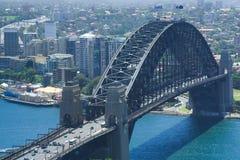 Harbour Bridge CloseUp Royalty Free Stock Photos
