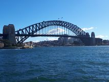 Harbour bridge royalty free stock image