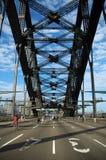 Harbour Bridge marathon stock photography