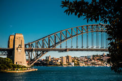 Harbour Bridge. In Sydney, Australia Royalty Free Stock Images