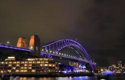 Harbour bridge Sydney harbour cityscape Sydney Australia. Harbour bridge Sydney harbour cityscape in Sydney Australia Royalty Free Stock Image