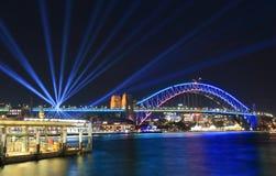 Harbour bridge Sydney harbour cityscape Sydney Australia. Harbour bridge Sydney harbour cityscape in Sydney Australia Royalty Free Stock Images