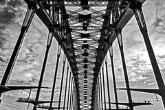 On The Harbour Bridge, Sydney Royalty Free Stock Photography