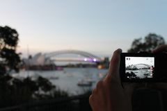Harbour Bridge in Sydney Stock Photography