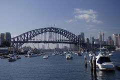 Harbour Bridge - view from North Sydney Stock Photo