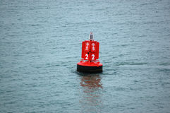 Harbour buoy Royalty Free Stock Photography