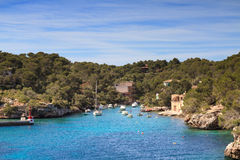 Harbour at Cala Figuera Royalty Free Stock Photo