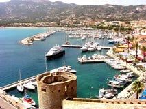 Harbour of Calvi Royalty Free Stock Photo