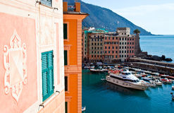 Harbour - Camogli Stock Photos