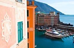 Harbour - Camogli Stock Photos