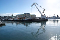 Harbour at Cape Town Stock Photos