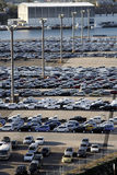 Harbour Car Park Royalty Free Stock Images