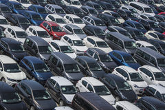 Harbour Car Park Royalty Free Stock Photography