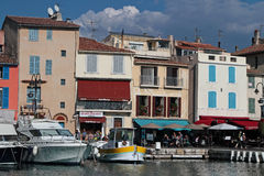 Harbour in Cassis Stock Photography