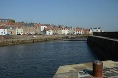 Harbour at Cellardyke Stock Images
