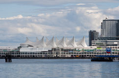 Harbour Center and Canada Place Vancouver Royalty Free Stock Photo
