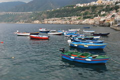 Harbour of Chianalea - Southern Italy Stock Image