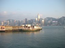 Victoria Harbour royalty free stock images