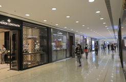 Harbour City shopping mall Hong Kong Stock Image
