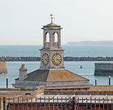 Harbour Clock Tower Royalty Free Stock Photo