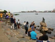 Harbour of Copenhagen.Denmark Royalty Free Stock Image