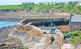 Harbour at Crail Royalty Free Stock Image