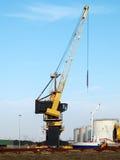 Harbour crane Royalty Free Stock Image