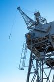 A harbour crane Stock Images