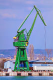 Harbour Crane Royalty Free Stock Photo