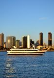 Harbour cruise. A Harbour Cruise taking tourists around the bay Royalty Free Stock Photography