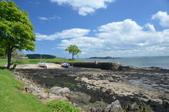 Harbour at Dalgety Bay Stock Image