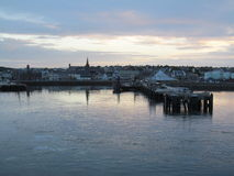 Harbour at Dawn Royalty Free Stock Photo