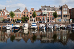 Harbour in Delfshaven Stock Image