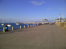 Harbour at Dún Laoghaire - Stock Image Royalty Free Stock Photos