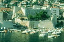 Harbour in Dubrovnik Stock Image