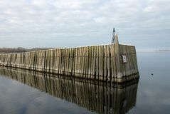 Harbour Entrance Royalty Free Stock Images