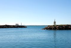 Harbour Entrance Stock Photos