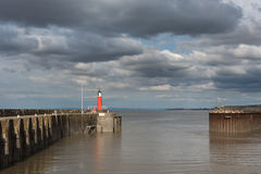 Harbour entrance Royalty Free Stock Photos