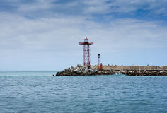 Harbour entrance Mosselbay Royalty Free Stock Photos