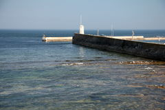 Harbour Entrance Stock Photography