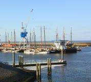 Harbour f Vlieland. netherlands Royalty Free Stock Photo