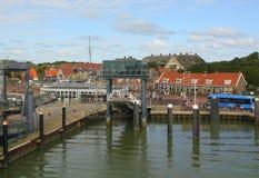 Harbour f Vlieland.Netherlands Royalty Free Stock Photos