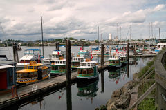 Harbour Ferries, Victoria BC Canada Royalty Free Stock Image