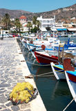 Harbour of Fisherman village Royalty Free Stock Images