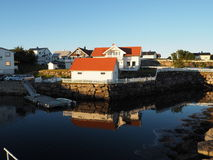 Fjord and boat house norway stock image image of for Circle fishing boat
