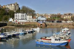 Harbour at Folkestone. Kent. England Royalty Free Stock Images