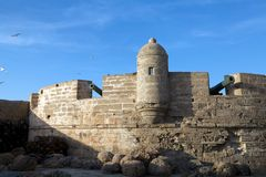 Harbour fortifications Stock Photo